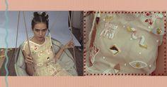 Hand beaded fantasy dress by Roxana Benea for Trei. Model : Laura. endless-reflection.tumblr.com