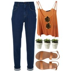 16/5/13 by par-amour on Polyvore featuring Brandy Melville, Dolce&Gabbana, Ancient Greek Sandals and Illesteva