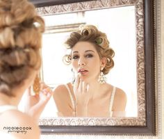 See more boudoir makeup by Jill Briggs at http://www.beautyboxmakeuparts.com/boudoir-makeup-artist-sacramento.php. Photo by Nicole Cook Photography.