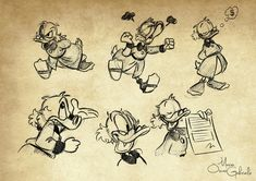 scrooge mcduck and glittering goldie - Google-søgning