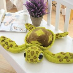 Help Save the Sea Turtles with the The Sea Land Turtle Plush- Mission to eliminate the Sea Turtle crisis - Donates to Sea Turtle Conservancy . Land Turtles, Save The Sea Turtles, Turtle Plush, Red Sea, Kids Backpacks, Baby Toys, Dinosaur Stuffed Animal, Cute, Pikachu