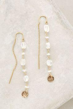 Threaded Coin Earrings - anthropologie.com #anthrofave