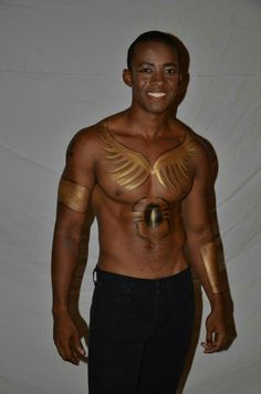 Body Painting, Egyptian, Atlanta, Events, Inspired, How To Wear, Inspiration, Design, Bodypainting