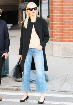 Kate Bosworth's Outfit Is Entirely Legitimate for the British Springtime via @WhoWhatWearUK
