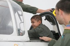 Enrique, a patient staying at the RMHC - Corpus Christi, had a life-changing experience this February. The VT-27 Boomers and VT-35 Stingrays made Enqrique a pilot-for-a-day! Enrique was given a full tour of NAS-CC and hung out with the Air Force, Navy and Coast Guard! They gave Enrique memories he will cherish for the rest of his life. We thank our military for their big hearts and open arms! To see all the photos, click through.