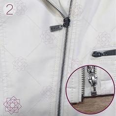 Cómo coser cremalleras en 3 pasos. Aprender a coser. Técnicas de costura. Costura fácil paso a paso.