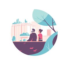 """illustration for the french company """"Gecina"""""""