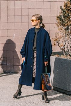 The Best Street Style Looks From New York Fashion Week Fall 2018 Look Fashion, Womens Fashion, Fashion Tips, Fashion Design, Fashion Trends, Street Fashion, Fashion Mode, Fashion 2018, Fashion Bloggers