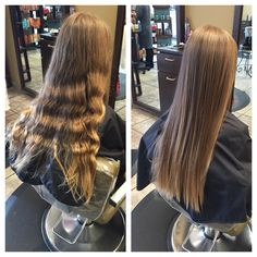 Keratin express blowout! Great way to get rid of your frizz and eliminate your styling time in the morning, did I mention it last up to 6 weeks and can decrease your tangles? Come get yours express blowout today! #ellemarie #ellemarielakestevens #ellemariekarlee #hairbykarleeann #keratinexpress #blowout #smooth #nofrizz #straighthair #nomorestress #nomorecurls