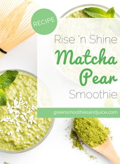 Energizing! Stimulating! Matcha delicious and really peps you up if you've had a late night the evening before. I also like to have it as a proactive option when I know I have a high demand day ahead.  #greensmoothies