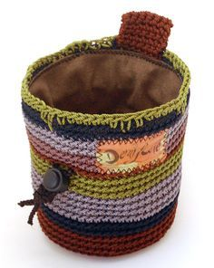 Bilderesultat for crochet chalk bag free pattern