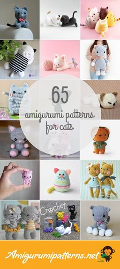 Amigurumipatterns.net has the largest collection of free and premium Cats amigurumi patterns. Click now and discover wonderful crochet patterns! Page 3 of results.