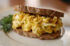 Broodje Eiersalade met Verse Dille