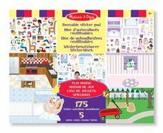 Melissa & Doug Play House Sticker Pad: Amazon.co.uk: Toys & Games