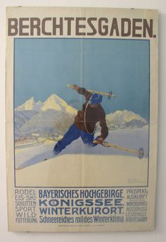 """Werbung aus der """"guten alten Zeit"""" » Berchtesgadener Land Blog - Berchtesgadener Land Blog"""