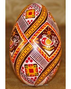 Easter Egg Ukrainian Pysanka Goose. Nice Quality