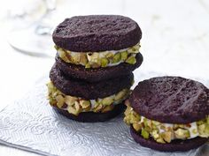 Picture of Chocolate Cannoli Sandwich Cookies Recipe