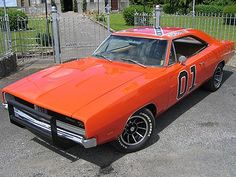 1969 Dodge Charger, from Dukes of Hazzard, The General Lee :-)