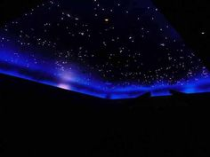 """Fiber-optic Star Ceiling:  Thank goodness my hubby has installed these before so when I say, """"honey I need this"""" he can't say, """"I don't know how"""""""
