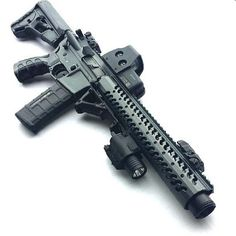 Custom Tactical assault rifle.