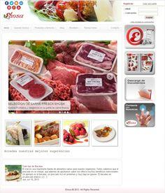 @Evelyn Hosaflook empresa líder en distribución alimentaria estrena web para SEO y SMO