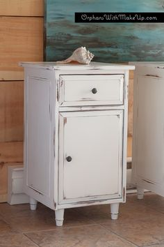 Painted Ikea Hemnes End Table