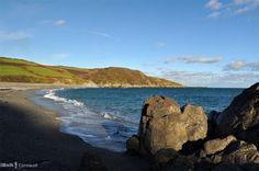 Godrevy Beach, St Keverne, Cornwall