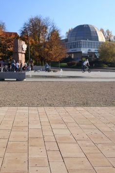 #Olsztyn #Plac Solidarnosci kostka #Polbruk Ideo www.polbruk.pl