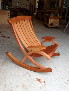 Deluxe Sunniva Rocker | Luxury, Handmade Chairs and Furniture | The Boggs Collective by Brian Boggs