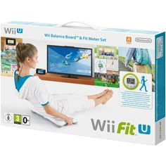 Wii Fit U with Wii Balance Board accessory and Fit Meter (Nintendo Wii U, for sale online Wii Fit, Fun Workouts, At Home Workouts, Balance Board, You Fitness, Fitness Games, Health Fitness, Women's Health, Aerobics