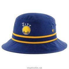 f52f30d9363 47 Brand Golden State Warriors Royal Stripe Bucket Hat-dEB0K3c3 Bucket Hat