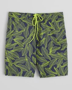 Reel Legends Little Boys Water Plaid Swim Shorts
