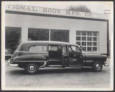 1950 Pontiac hearse.