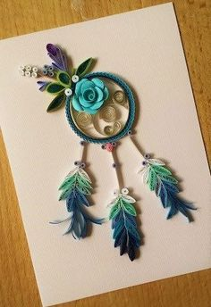 Dreamcatcher - quilled by: Unknown Artist