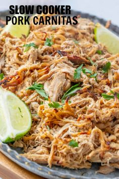 Slow Cooker Pork Car