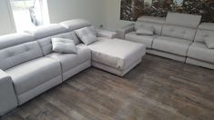 Habitat sofa and chaise and large 3 seater sofa. Beautiful and modern sofa with plenty of features. Delivered to our client in Coventry. Modern Sofa, Modern Bedroom, Sofa Bed Mattress Cover, Leather Bed, 3 Seater Sofa, Coventry, Corner Sofa, Sofa Design, Contemporary Furniture