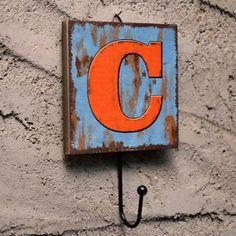 C Homeware Accessory Kitchen Hall Lobby Decor Home Wall Mounte Letter Rack Hooks   eBay