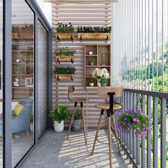 Terrace Decor, Small Balcony Decor, Small Balcony Garden, Small Balcony Design, Small Patio, Raised Garden Beds, Apartment Balcony Garden, Apartment Balcony Decorating, Apartment Balconies