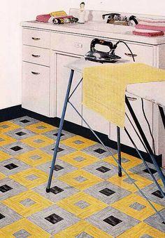 Fabulous tiles - Armstrong Linoleum, 1954