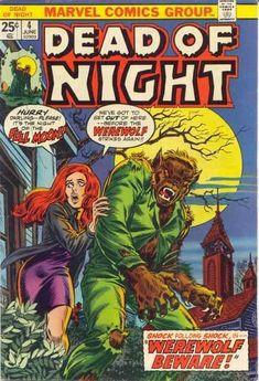 """Dead of Night #4 - """"Werewolf Beware!"""" (Issue)"""