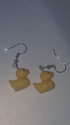 Lolita Cosplay rubber ducky, dangle earrings for Sale in Humble, TX - OfferUp Weird Jewelry, Cute Jewelry, Jewelry Accessories, Funky Jewelry, Geek Jewelry, Gothic Jewelry, Jewelry Crafts, Jewlery, Jewelry Necklaces