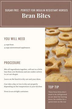 Bran Bites - Horse Treats Recipes