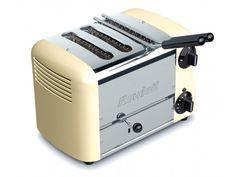 Rowlett Esprit 3 Slice Single Brunch Toaster in Cream - Toasters - Electronics