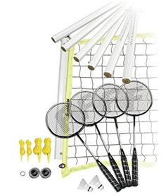Shop for Franklin Sports Advanced Badminton Set. Get free delivery On EVERYTHING* Overstock - Your Online Sports & Fitness Shop! Best Badminton Racket, Tennis Racket, Sports Equipment, No Equipment Workout, Giant Games, Champion Sports, Handmade Leather Wallet, Racquet Sports