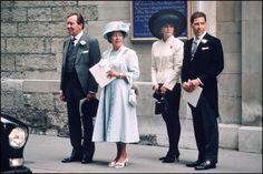 Princess Margaret and Viscountess Serena Linley