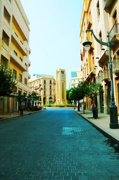 Beirut, Lebanon. Solidere.