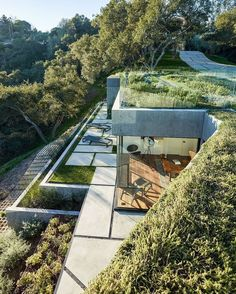 """Oak Pass Main House. By Walker Workshop  Located in Beverly Hills, United States #artsytecture…"""""""