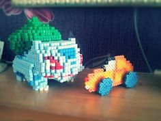 On instagram by mattyperler #retrogaming #microhobbit (o) http://ift.tt/2c8WK5w first ever try at 3d perler next to my newest 3d perler piece! Working on charmander now c;  If you want to donate to my #kickstarter anything helps!!! Link is in bio or copy and paste this: http://ift.tt/1WgYXcI #pokemon #perlerbeads #hamabeads #kandi #nabbi #perler #igersnintendo #igerspokemon #nintendo #geek #nerd #playstation #ps3 #ps4 #xbox #xboxone #xbox360 #pixelart #anime #8bit #minecraft #dublin…