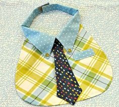 bib for a baby geek featuring a necktie - too cute