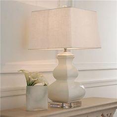 Porcelain Square Gourd Table Lamp